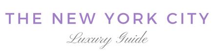 Luxury travel guide new york city NYC